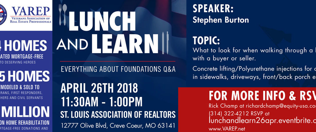 FREE Veterans Lunch and Learn – April 26th