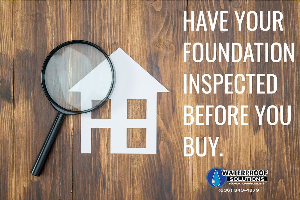Foundation Inspections: Don't Buy Without One