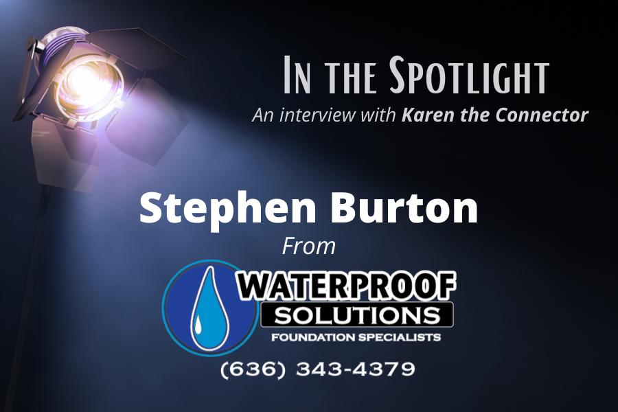 Foundation Specialist Stephen Burton – An Interview