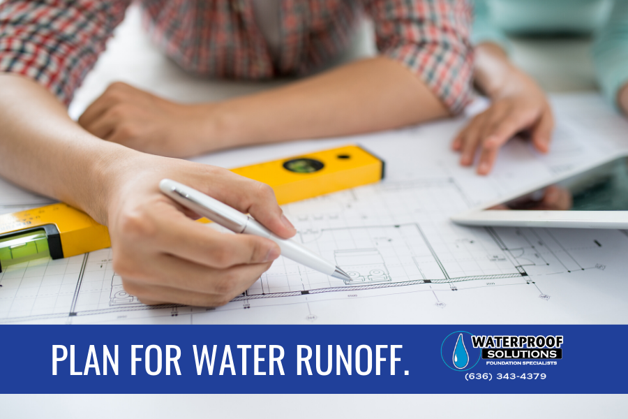 Include Water Runoff in Your Building Plans
