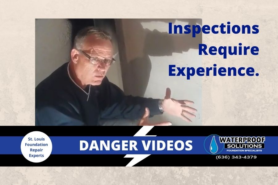 Waterproof Solutions St. Louis home inspection process