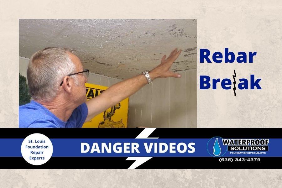Waterproof Solutions St. Louis Danger Videos Rebar Break