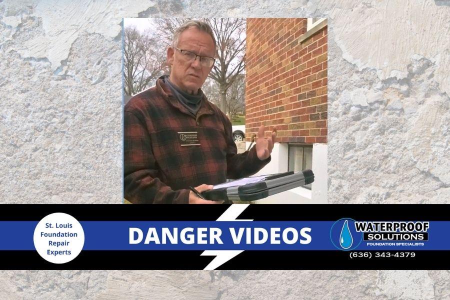 Waterproof Solutions Stl St. Louis Fenton crack in foundation