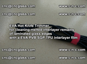 EVA HOT KNIFE TRIMMER for cleaning EVA PVB SGP TPU overflowed remains in laminated glass (15)