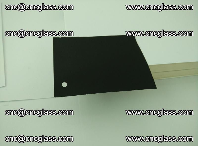 Black opaque EVA glass interlayer film for safety glazing (triplex glass) (22)