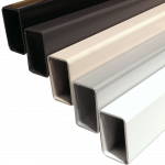 """20ft sections of 2"""" OD x 1 3/8"""" OD Handrail. Designed to run between posts as support rail or standalone handrail."""