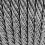 """3/16"""" Cable 1X19 Twisted marine grade 316"""