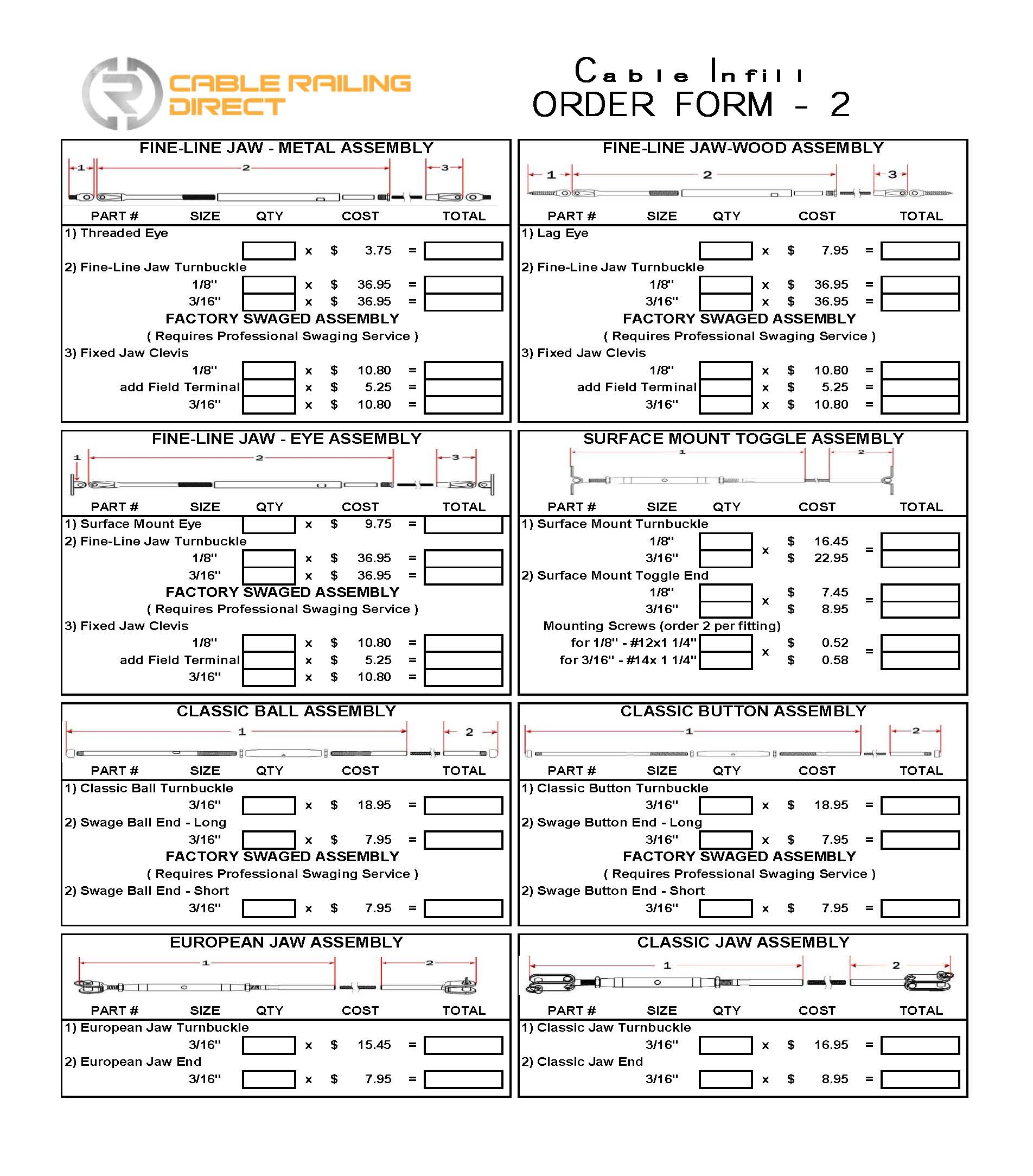 CRD Infill Order Forms Page 2