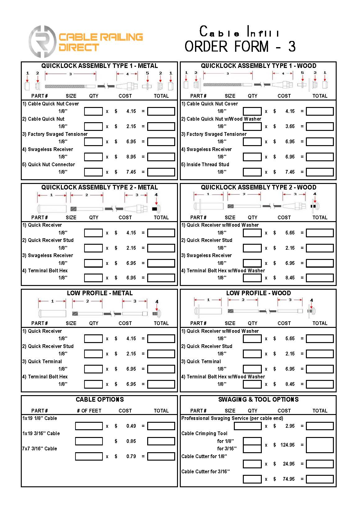 CRD Infill Order Forms Page 3