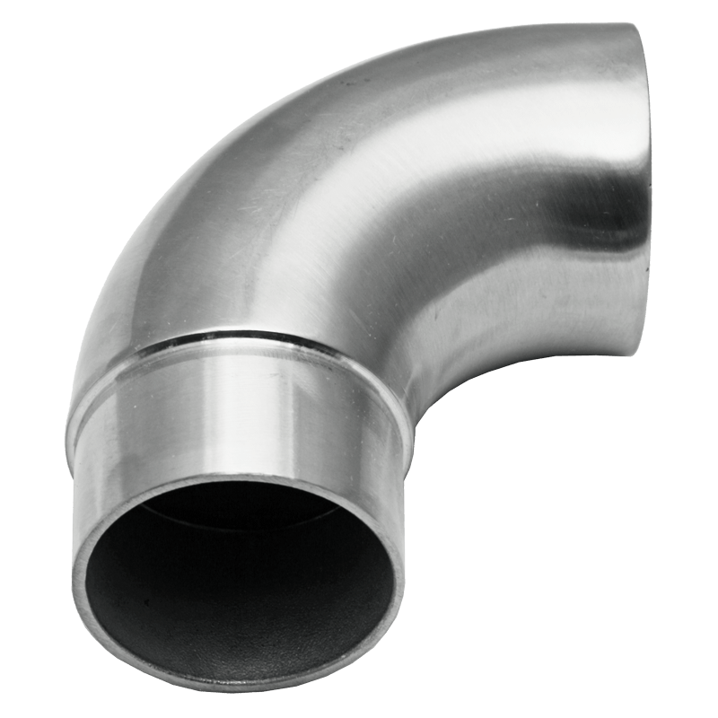 """End Wall Return 2"""" OD Round Stainless Steel Material: 1.6mm Wall Thickness Marine Grade 316 round tube Finish: Brushed 180 grit"""