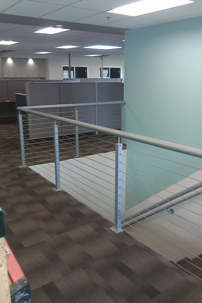 Cable Infill System installed in an Office