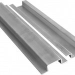 Inline splice (joins Top Rail) for Aluminum Square 5 color systems.