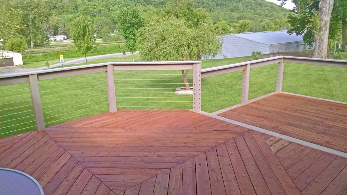 Cable Infill & Stainless Steel Fittings in Minnesota City, MN