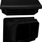 Post-to-Post plastic end cap for Aluminum Square 5 color systems.