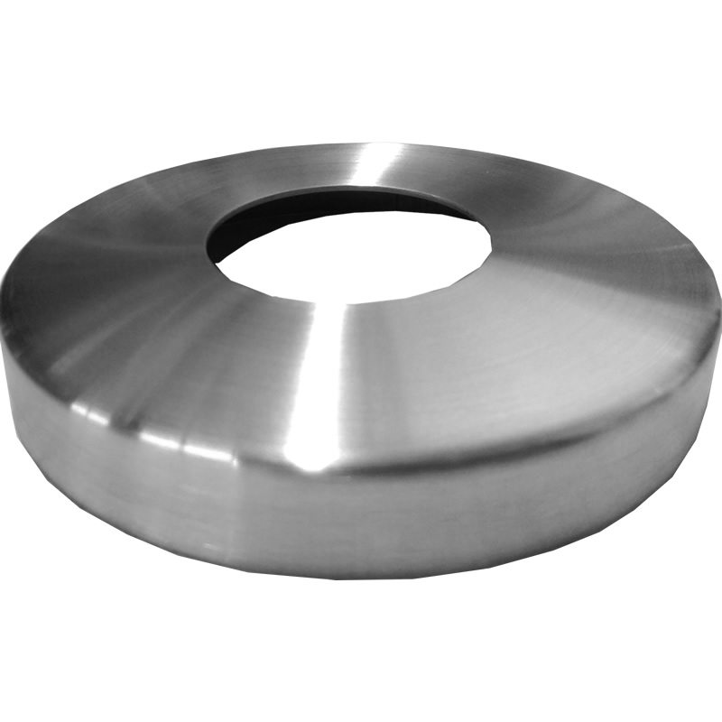 Cover plate for 2in round stainless deck mount posts