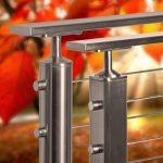 Stainless Steel Rectangular Top Rails
