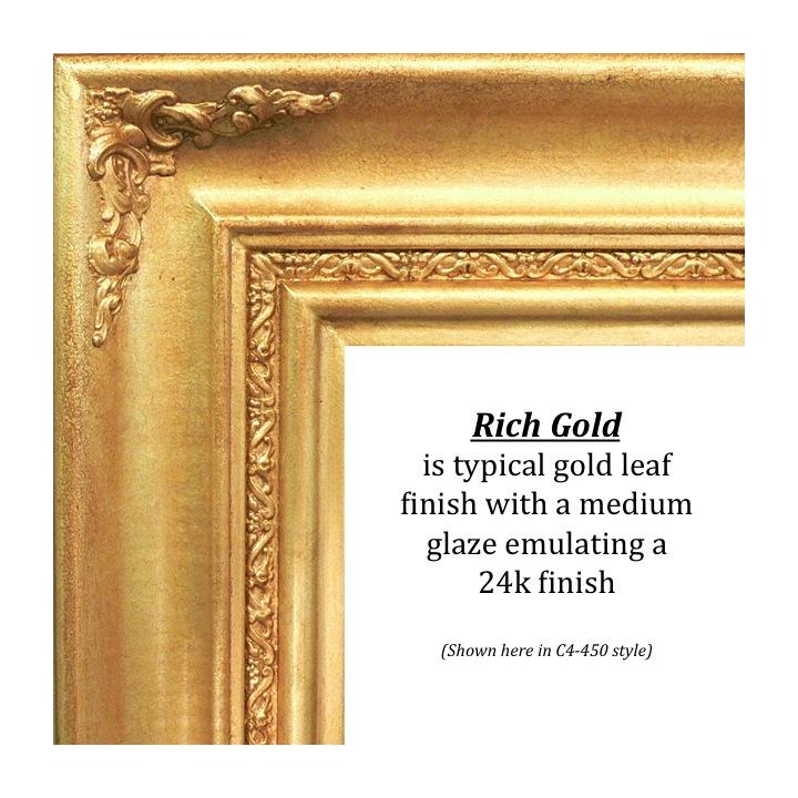 Rich Gold, Bitterroot Frames, finishes, custom frames