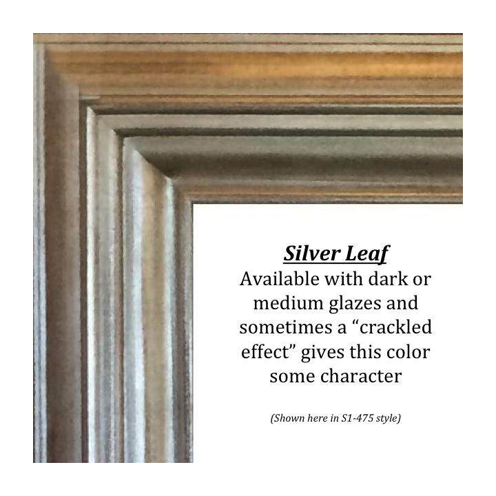 Silver Leaf, Bitterroot Frames, finishes, custom frames