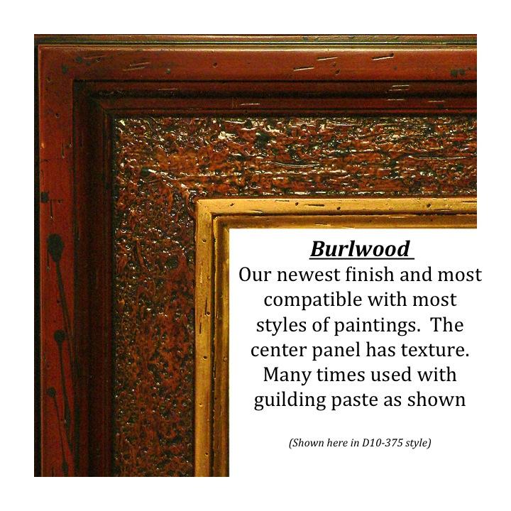 Burlwood, Bitterroot Frames, finishes, custom frames