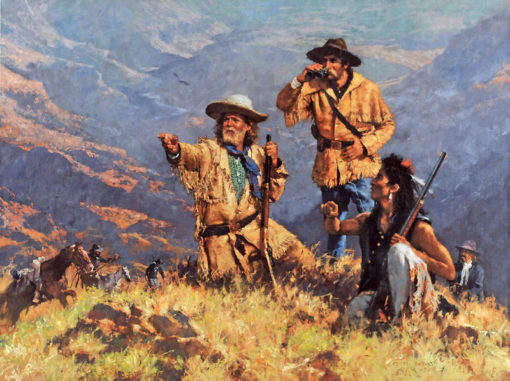 The Scouts, artist C.M. Dudash, limited edition giclee print