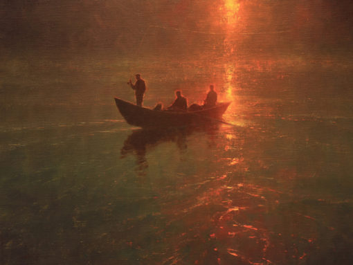 Drifting in Time by artist Brent Cotton