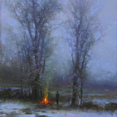 NIght is Drawing Nigh by artist Brent Cotton