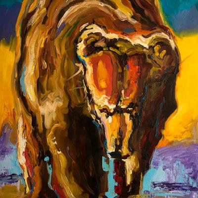 Diane Whitehead Prints, Beach Bear