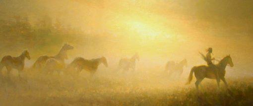 Apache Dawn by artist Rachel Warner, Fine Art Giclée Prints