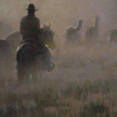 Montana Morning by artist Rachel Warner