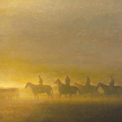 36x60 giclee prints, Morning on the Prairie by artist Rachel Warner