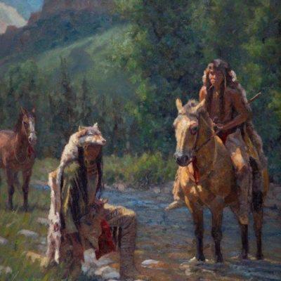Brandon Bailey, Wolf Scouts, 36x24