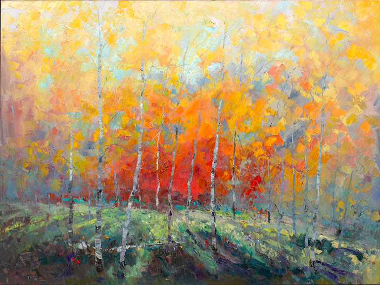 original oil painting, Beauty of a Dream by the artist Troy Collins