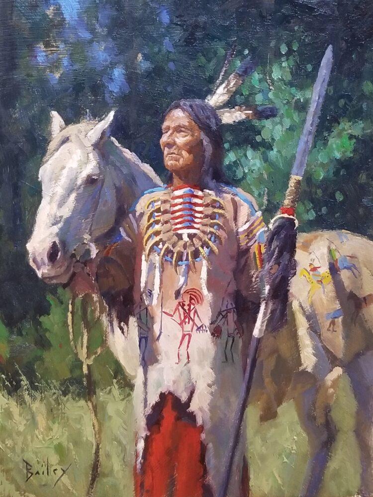 Brandon Bailey original oil painting