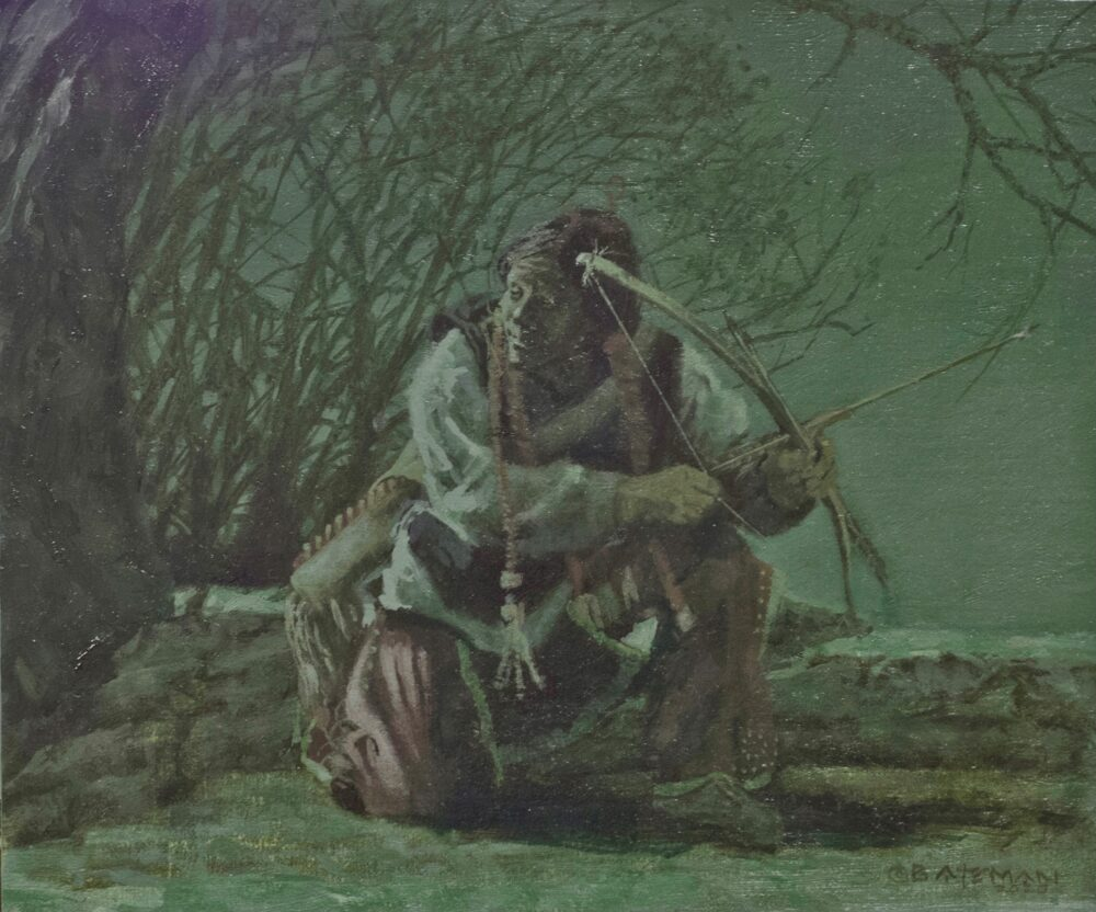 Brian Bateman original oil painting