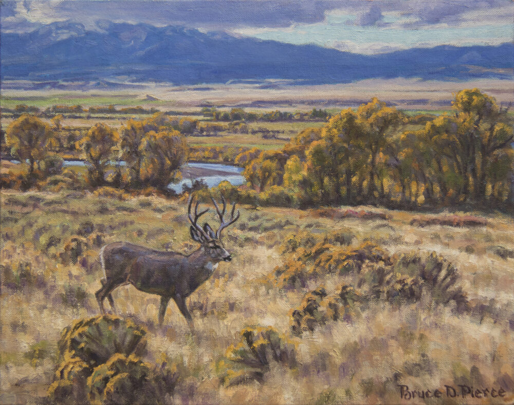 Bruce Pierce original oil painting