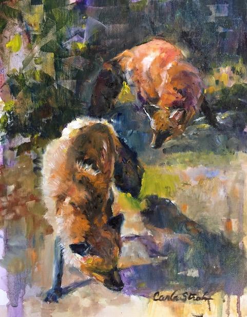 Carla Stroh original oil painting