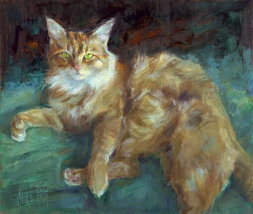 Cheryl King original oil painting