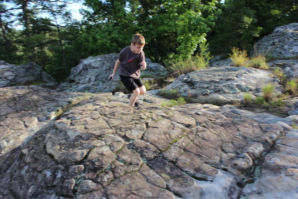 Turtle Rocks at Petit Jean State Park