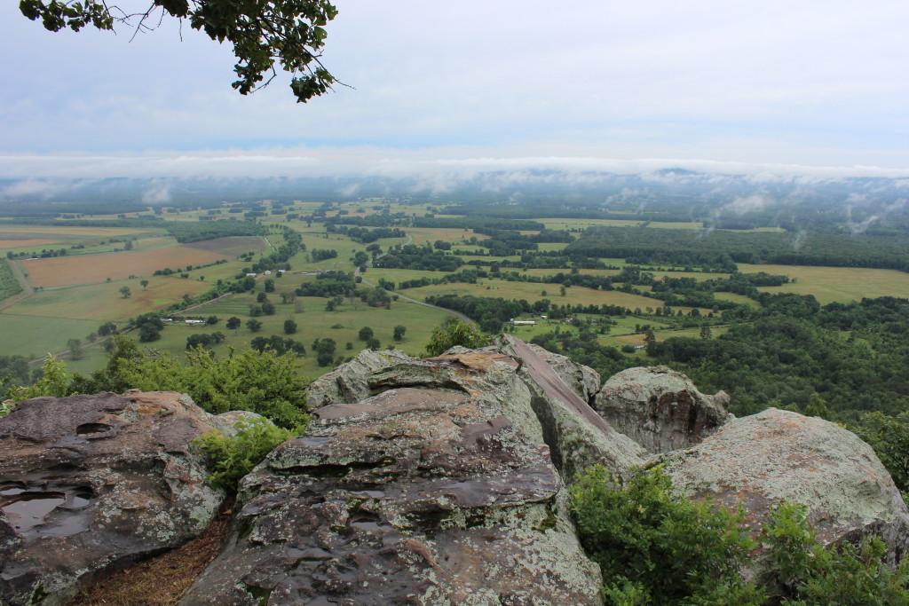 View from Petit Jean Mountain, Arkansas