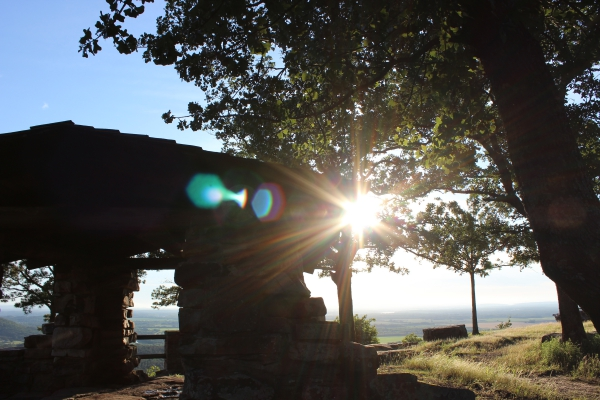 Overlook built by the CCC at Petit Jean