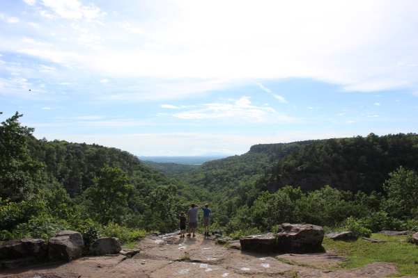 View from Lodge at Petit Jean