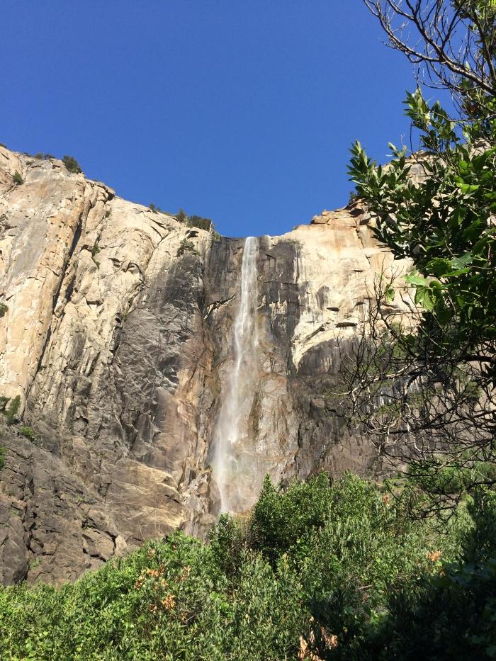 Brideveil Falls at Yosemite
