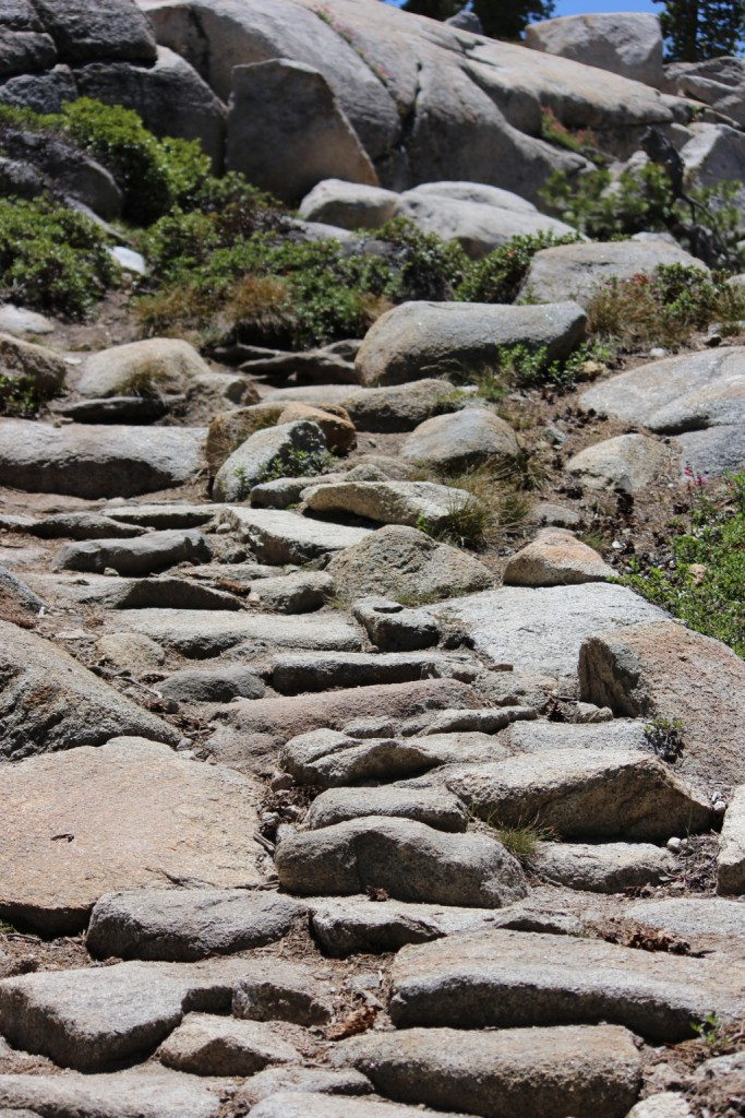 Stone Steps at Yosemite