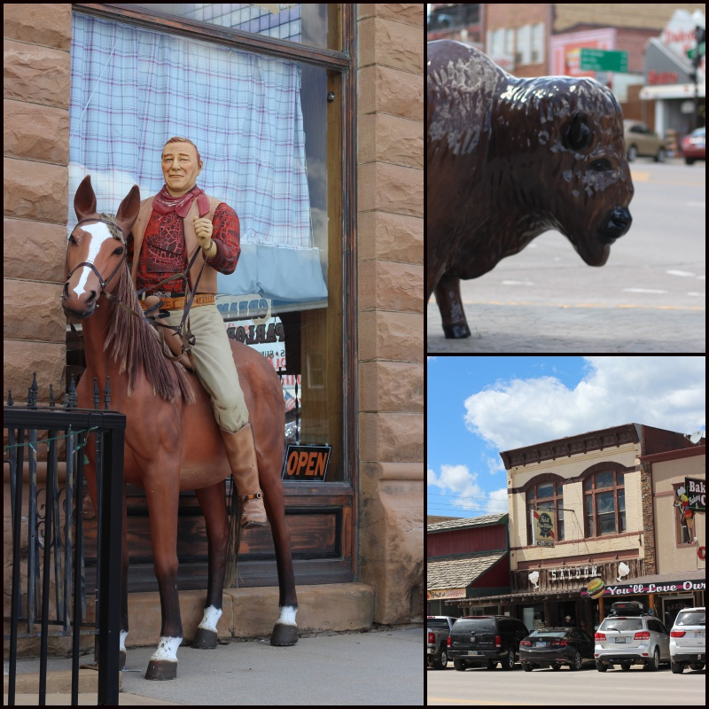 Custer Collage