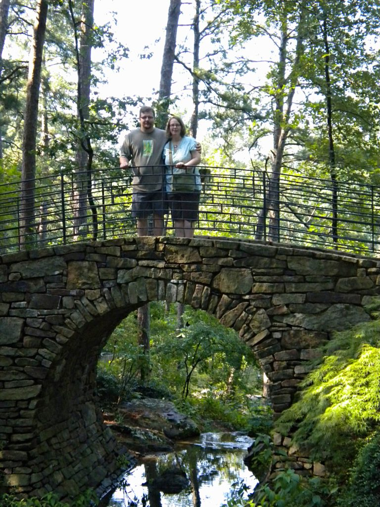 Garvan Woodlands Gardens in Hot Springs AR