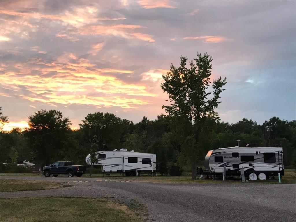 campsites Branches of Niagara campground