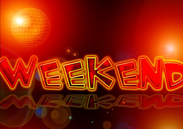 The Light and Joy of the Weekend…
