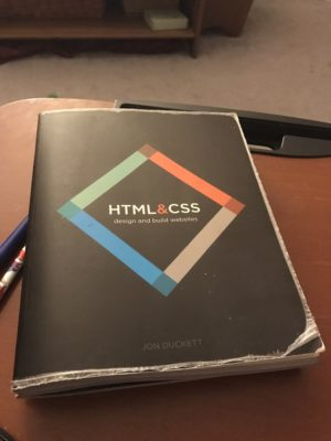 Friday Night Studying: HTML and CSS