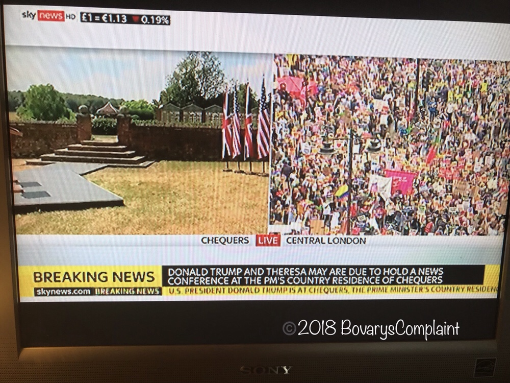 Finally, TRump as it should be broadcasted…