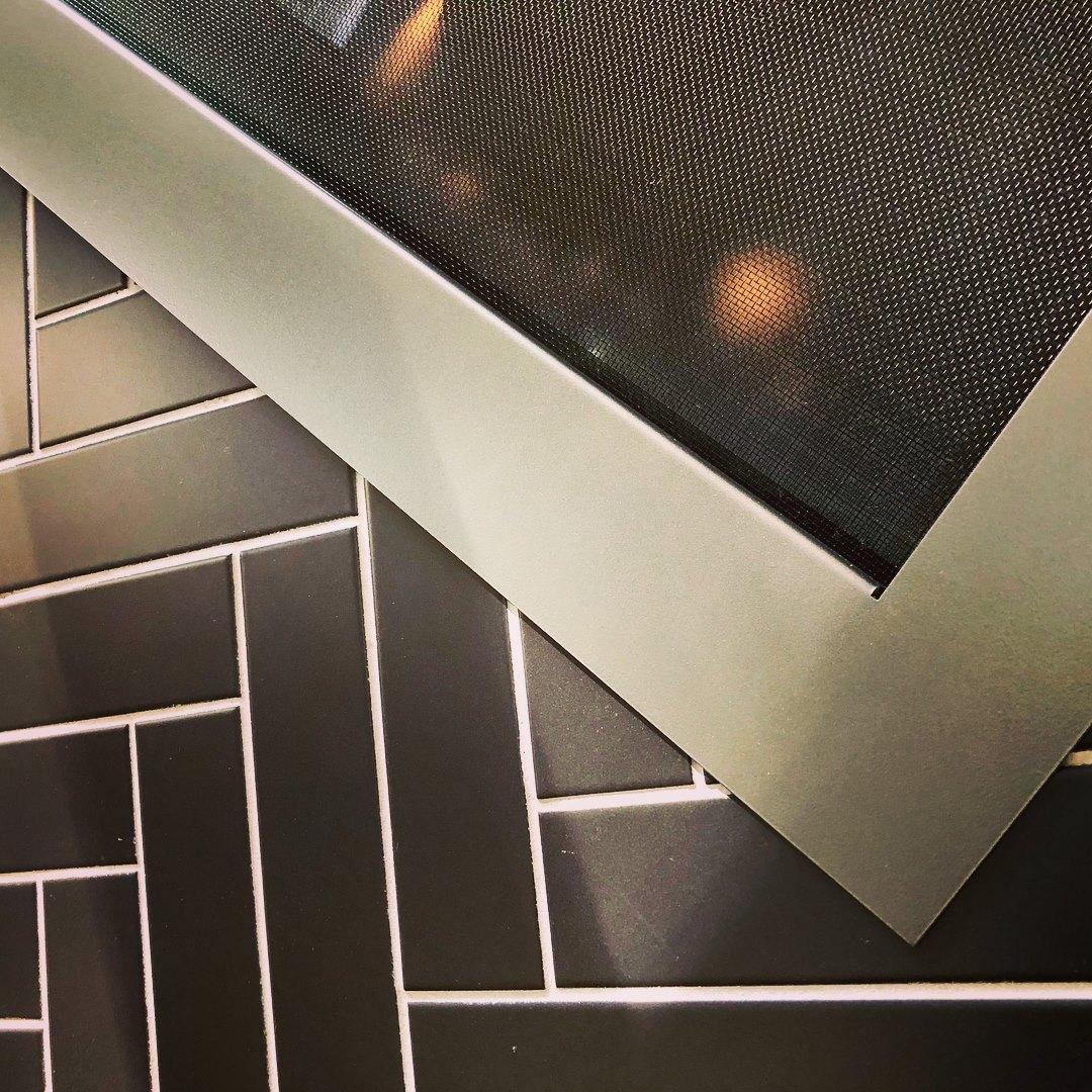 Fireplace Custom Tile Detail